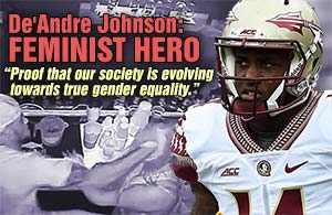 Johnson Feminist Hero