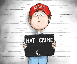 MAGA Hat Crime