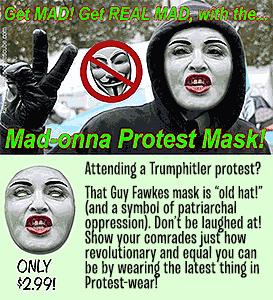 Madonna Protest Mask