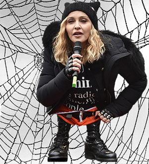 Madonna shrunk