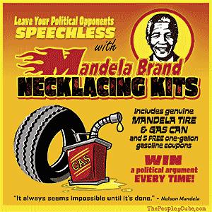Nelson Mandela Brand Necklacing Kits cartoon