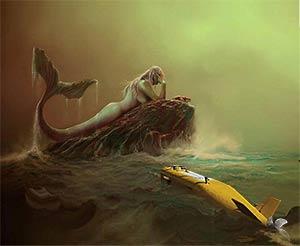 Mermaid drone