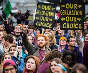 Social justice millennials