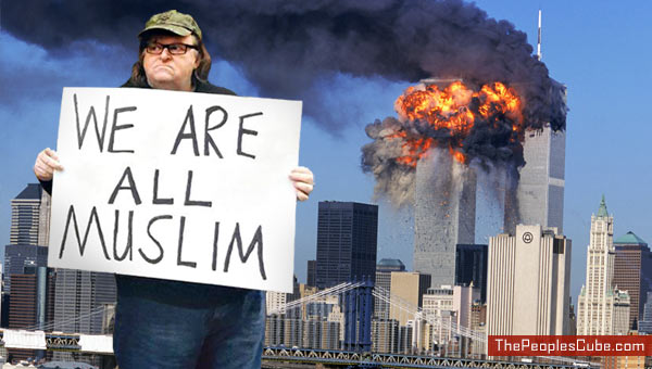 Image result for images of michael moore we are all muslim