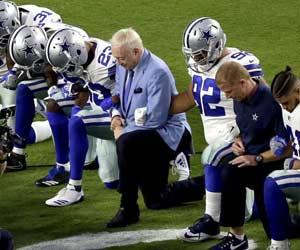 NFL protests = brain damage