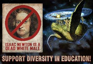 Newton: Dead White Male