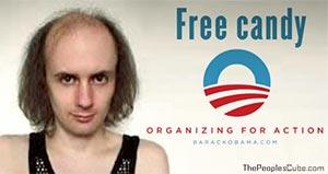 OFA Molester Free Candy Obama