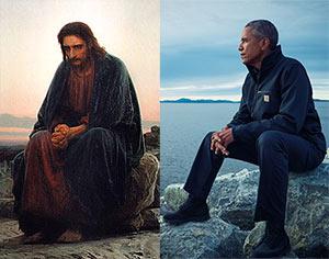 Obama vs Christ