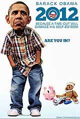 Obama Man-Child funny pic