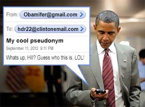 Obama's pseudonym