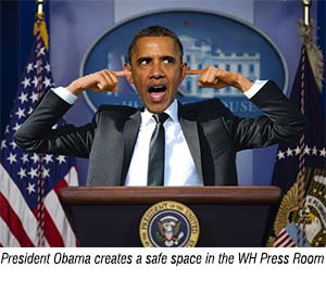 Obama creates safe space