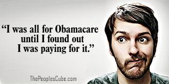 Low information voter on Obamacare - big surprize cartoon