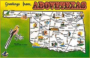 Oklahoma to change name to Abovetexas cartoon