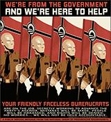 Obama brownshirts faceless bureaucrats