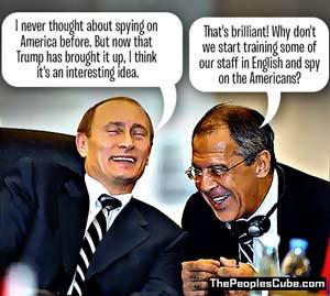 Putin, Lavrov laugh