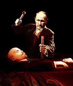 Putin kills Lenin vampire