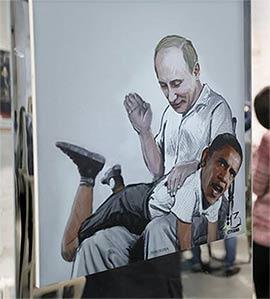 Putin spanks Obama