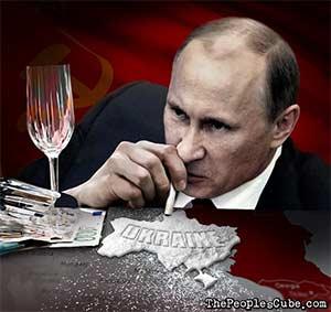 Putin Ukraine Cocaine Clapton