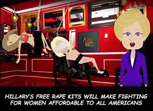 Harvey Hillary Rape Kits
