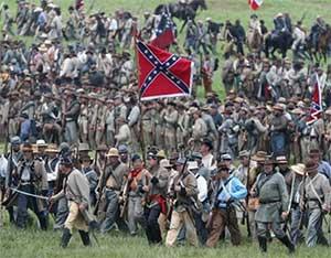 Confederate reenactors
