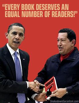 Obama reads Shakedown Socialism
