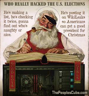 Santa hacks DNC