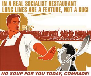 Marxist restaurant