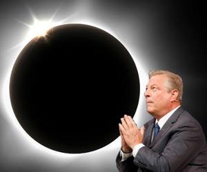 Solar eclipse Al Gore