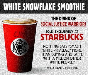 Starbucks Snowflake Smoothie