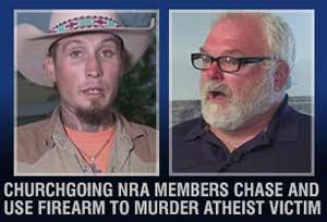 Atheist murdered near Texas church