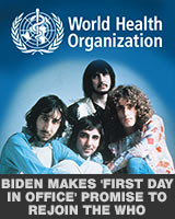 Biden rejoins the WHO