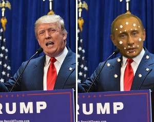 Trump a CGI Hologram