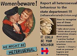 Trump is Heterosexual