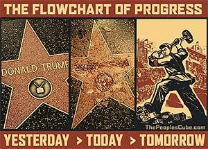 Trump Star Hollywood