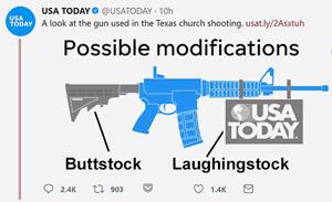 USA Today AR-15 chainsaw
