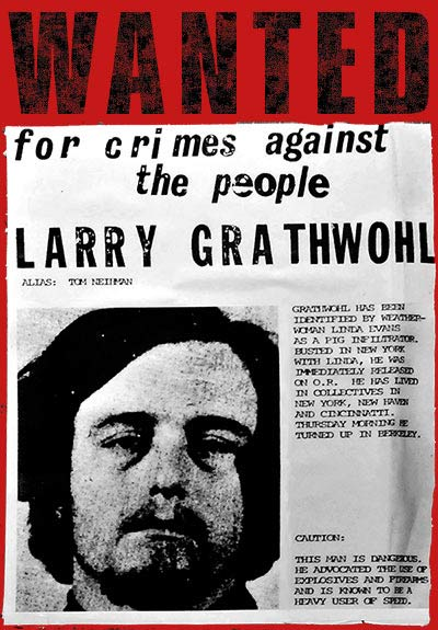 Wanted Poster Larry Grathwohl