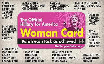 Woman Card