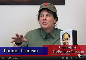 Tommi Trudeau on the Jamie Glazov Gang