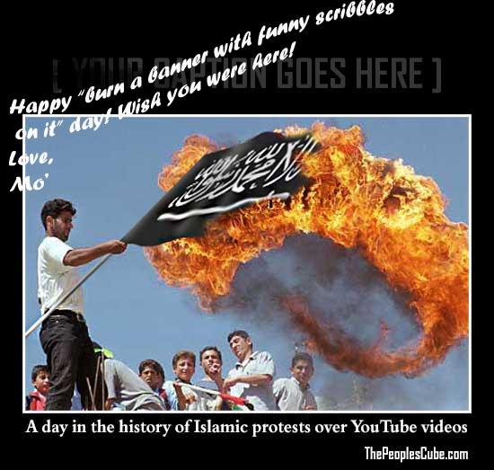 infidel Muslim_Protest_Islam_Flag_Burning.jpg