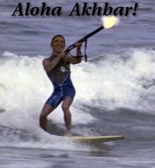 obama skeet shooting aloha akhbar