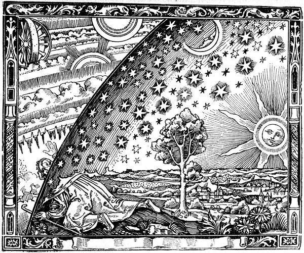 cosmology.Flammarion woodcut.anonym wood engraving.(h=600).jpg