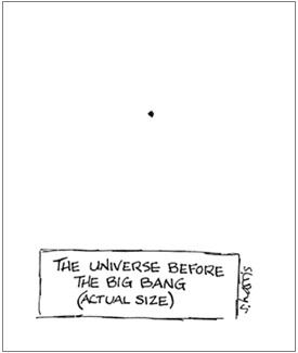 US.Science Cartoons.Sidney Harris.Astro.Before Big-Bang.jpg