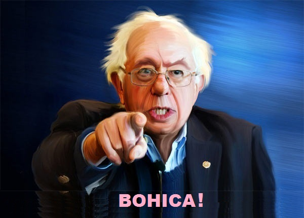 The Peoples Cube.Sanders.2016.05.05.CAPTION THIS - Bernie finger.Bohica.jpg