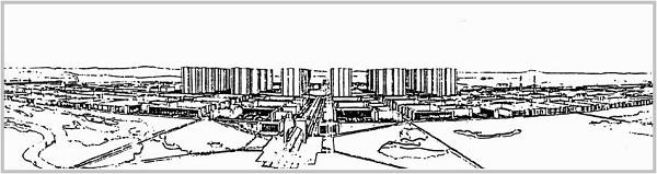 FRA.Le Corbusier.Ville contemporaine de 3 millions d-habitants.1922.1.see - Plan Voisin.1925.(600).jpg