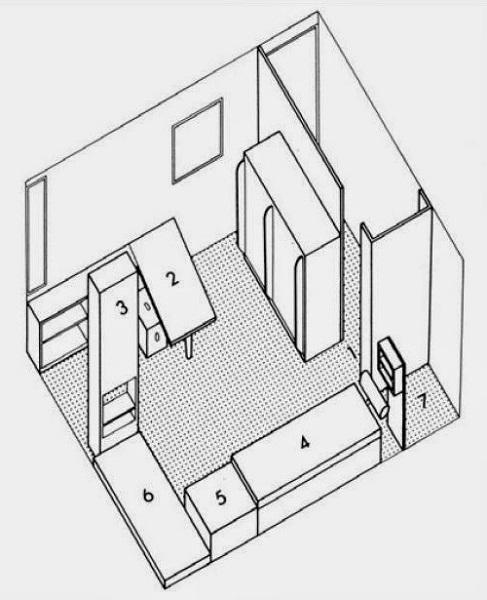 Le Corbusier.Roquebrune-Cap-Martin.petit cabanon.3.66m x 3.66m x 2.66m.2.(600).jpg