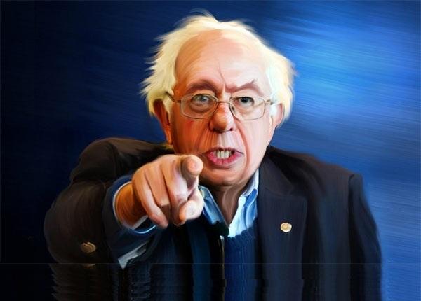 The Peoples Cube.Sanders.2016.05.05.CAPTION THIS - Bernie finger.blank.jpg