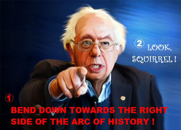 The Peoples Cube.Sanders.2016.05.05.CAPTION THIS - Bernie finger.blank.Squirrel.jpg