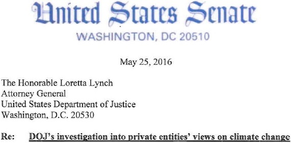 US.2016.05.25.(Senate.Lynch).DOJ-s investigation into private entities- views on climate change.1.jpg