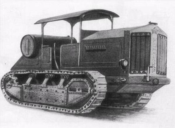 Трактор-тягач Коммунар.Прототипом стал немецкий ВД-50 Ганомаг.(600).jpg