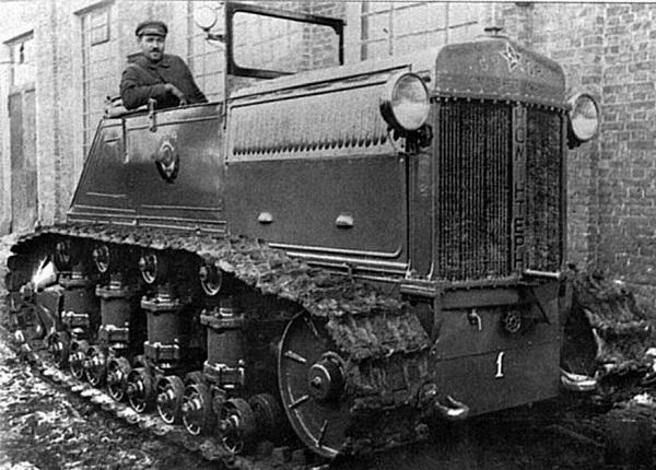 Трактор-тягач Коминтерн, модернизации трактора Коммунар.(600).jpg